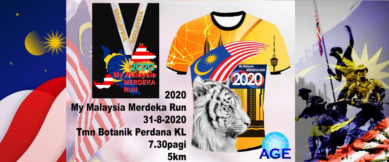 My Malaysia Merdeka Run 2020