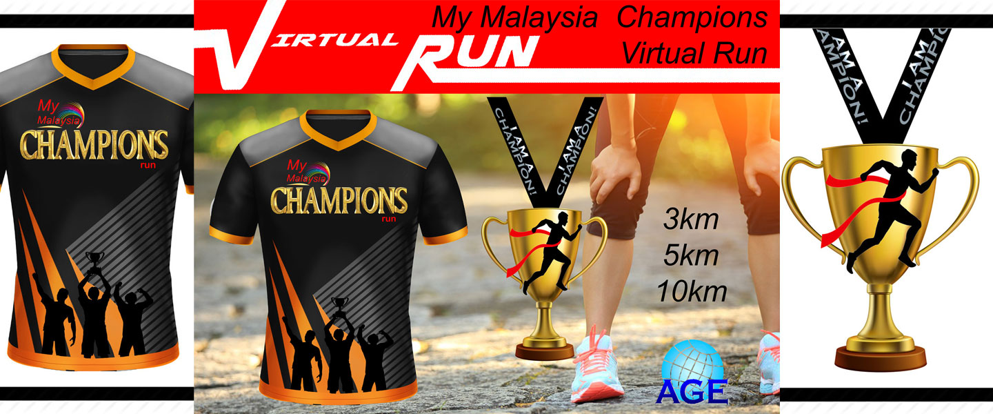 My Malaysia Champion Virtual Run