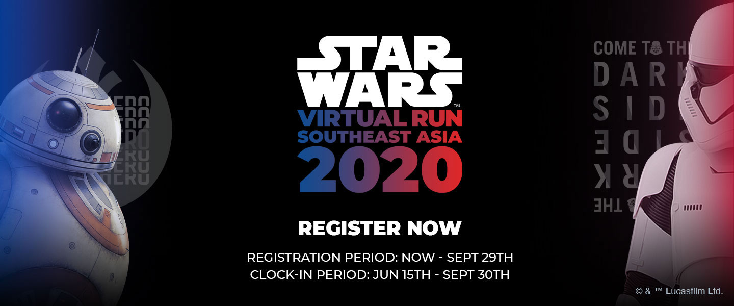 Star Wars Virtual Run Southeast Asia 2020