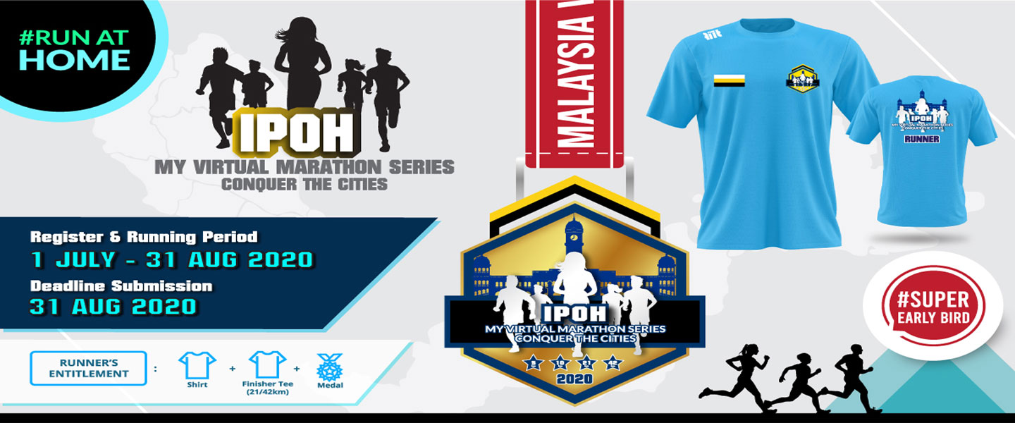 MY Virtual Marathon Series - Conquer the Cities (Ipoh)