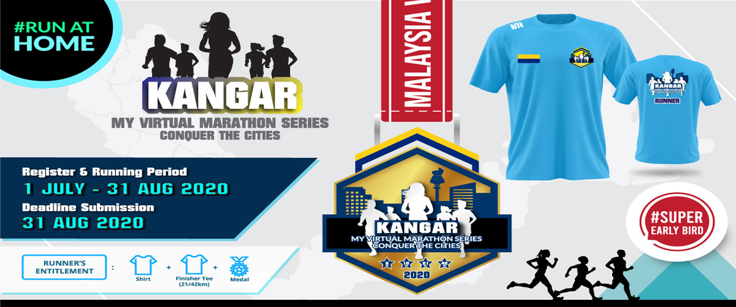 MY Virtual Marathon Series - Conquer the Cities (Kangar)