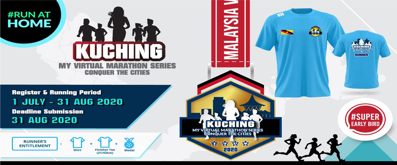 MY Virtual Marathon Series - Conquer the Cities (Kuching)
