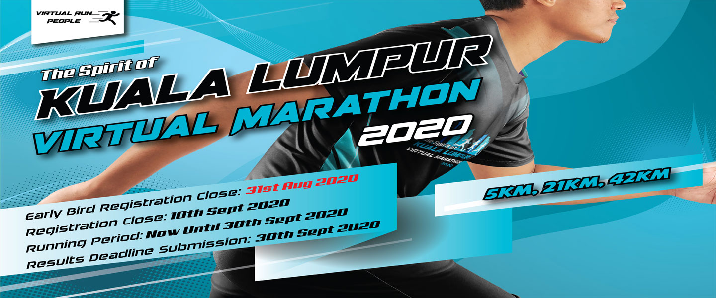 The Spirit of Kuala Lumpur Virtual Marathon 2020