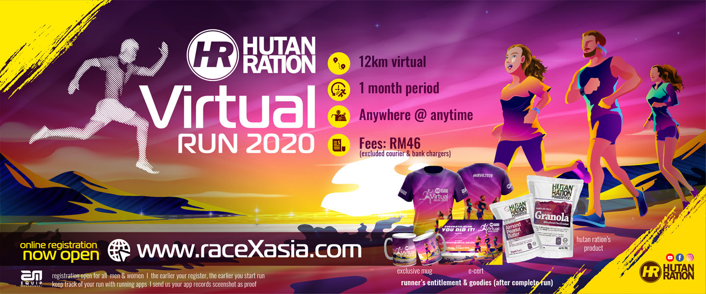Hutan Ration Virtual Run 2020