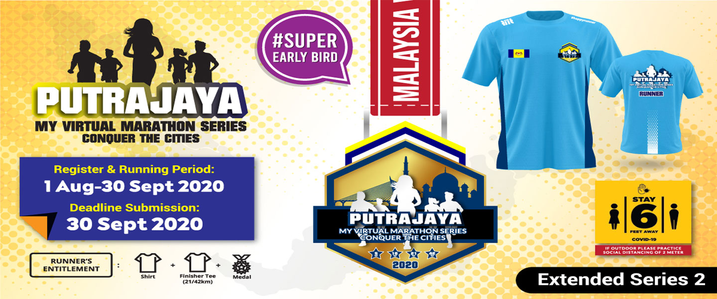 MY Virtual Marathon Series - Conquer the Cities (Putrajaya)