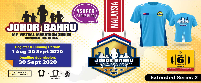 MY Virtual Marathon Series - Conquer the Cities (Johor Bahru)