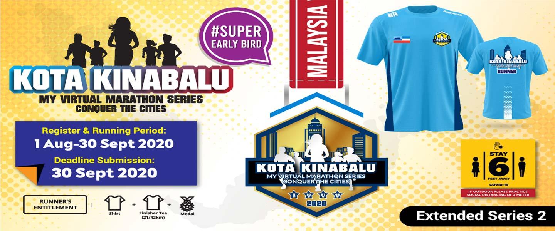 MY Virtual Marathon Series - Conquer the Cities (Kota Kinabalu)