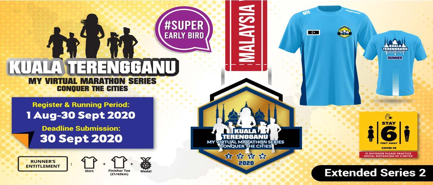 MY Virtual Marathon Series - Conquer the Cities (Kuala Terengganu)