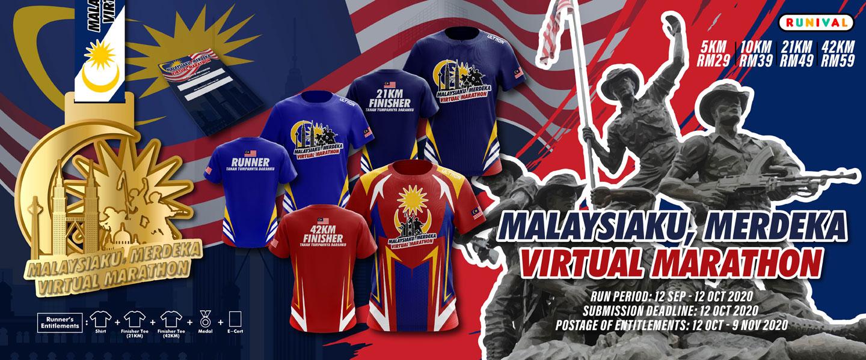 Malaysiaku, Merdeka Virtual Marathon