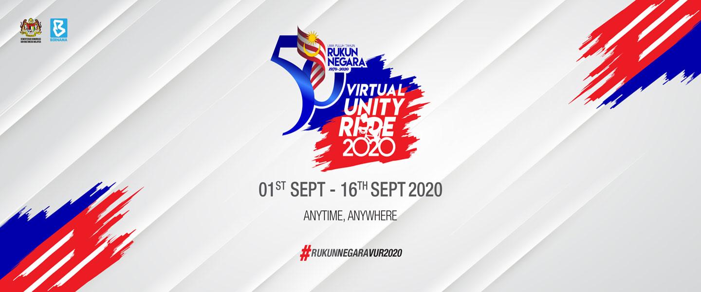 50 Years of Rukun Negara - Virtual Unity Ride 2020