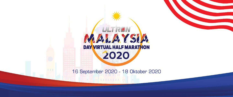 Ultron Malaysia Day Virtual Half Marathon 2020