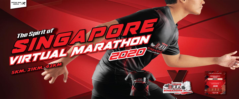 Spirit of Singapore Virtual Marathon 2020