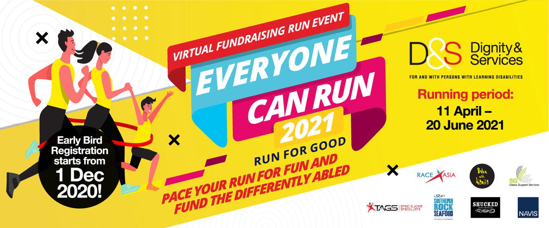 Virtual Fundraising Run Event Everyone Can Run 2021 - Run For Good
