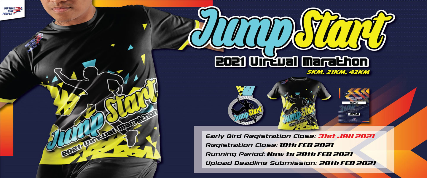 JumpStart 2021 Virtual Marathon