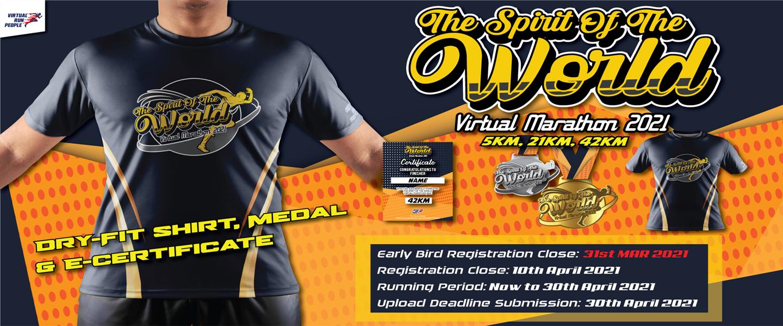 Spirit of World Virtual Marathon 2021