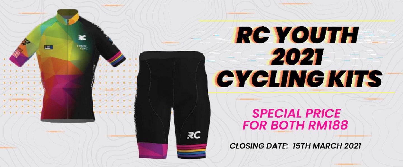 RC Youth 2021 Cycling Kits