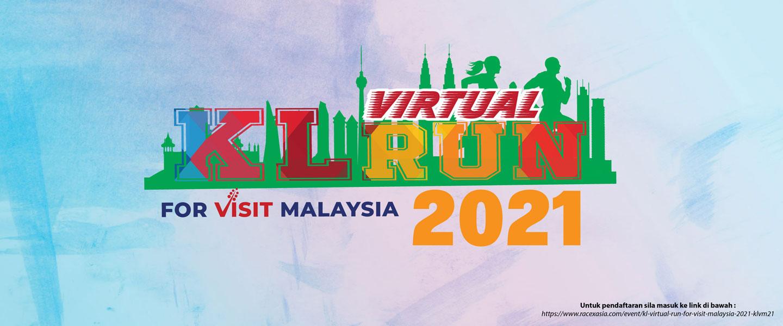 KL Virtual Run For Visit Malaysia 2021