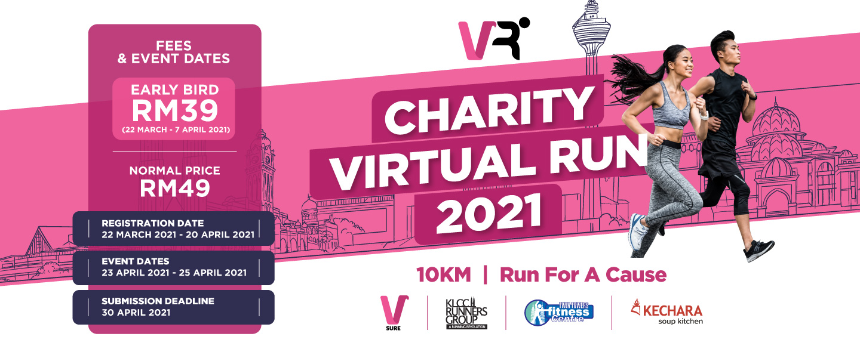 VSure Charity Virtual Run 2021