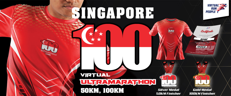 Singapore 100 Virtual UltraMarathon