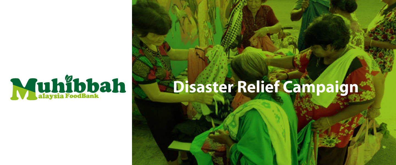 Muhibbah Food Bank (Disaster Relief) - Donation
