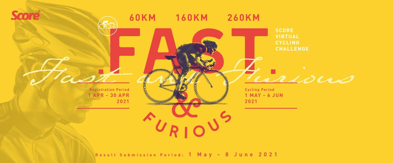 SCORE Fast & Furious Virtual Cycling Challenge