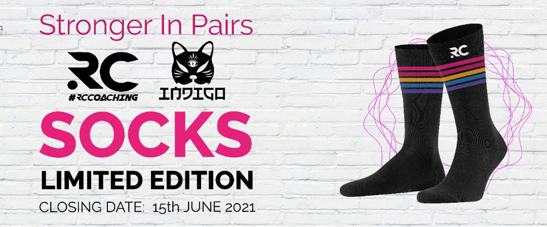 RC Coaching X Indigo Limited Edition Socks