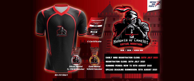 Knights of Camelot Virtual Marathon