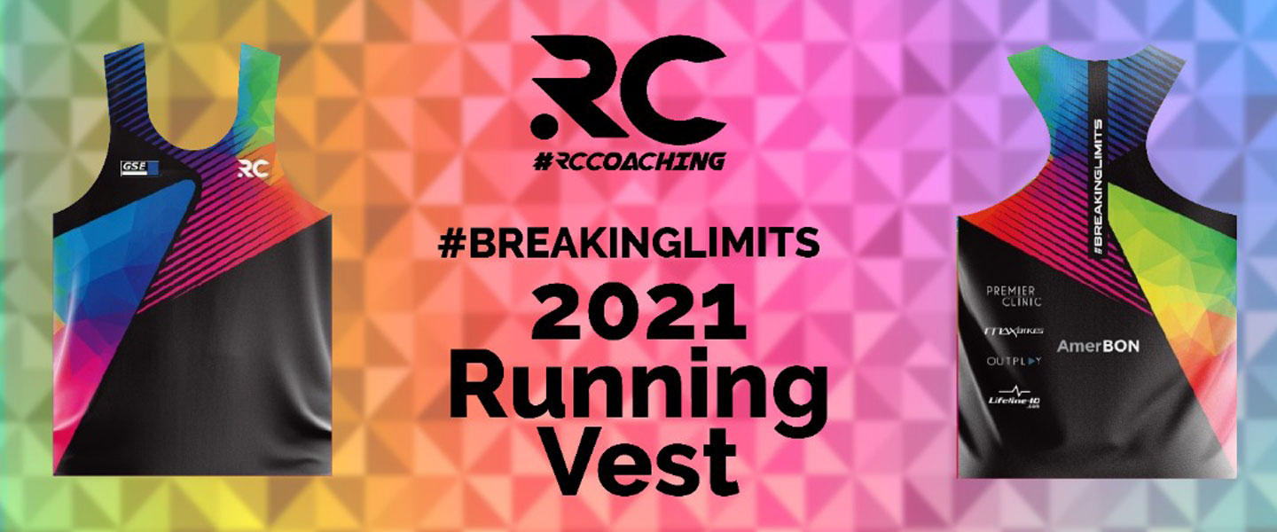 RC Coaching Breaking Limits 2021 Running Vest