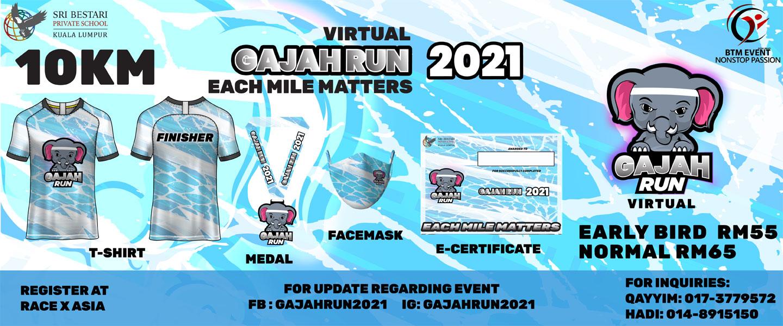 Gajah Run Virtual 2021