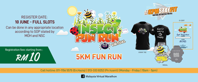 Insect Virtual Fun Run 2021