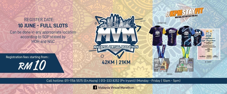 Malaysia Virtual Marathon 2021