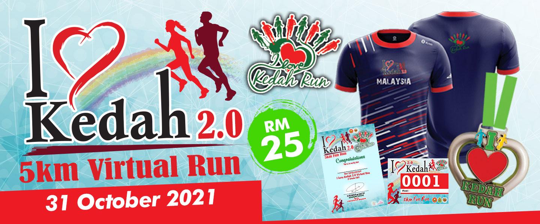 I Love Kedah 2.0 Virtual Run