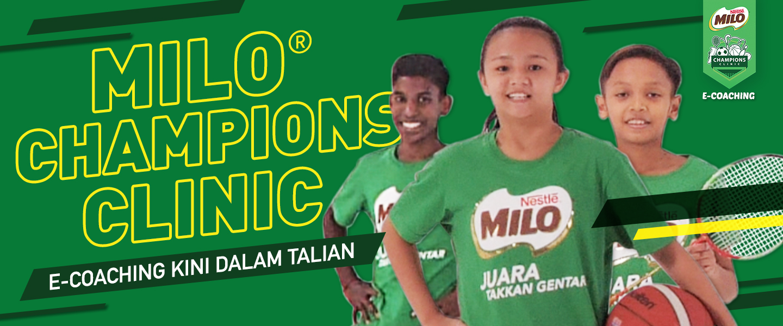 Champions Clinic E-coaching 2021