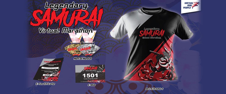 Legendary Samurai Virtual Marathon 2021
