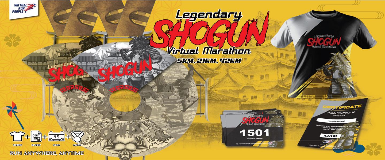 Legendary Shogun Virtual Marathon 2021