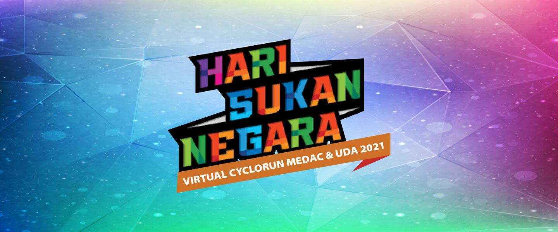 Hari Sukan Negara Virtual CYCLORUN MEDAC & UDA 2021